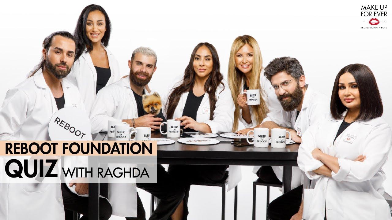 إختبار كريم أساس ريبوت مع رغدة    REBOOT Foundation Quiz With Raghda