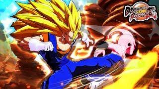 Dragon Ball FighterZ PC Mods: Super Saiyan 3 Vegito Mod Gameplay (SSJ3 Vegito FighterZ)