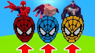 Minecraft PE : DO NOT CHOOSE THE WRONG SPIDERMAN! (Spiderman, Spider Pig & Venom)