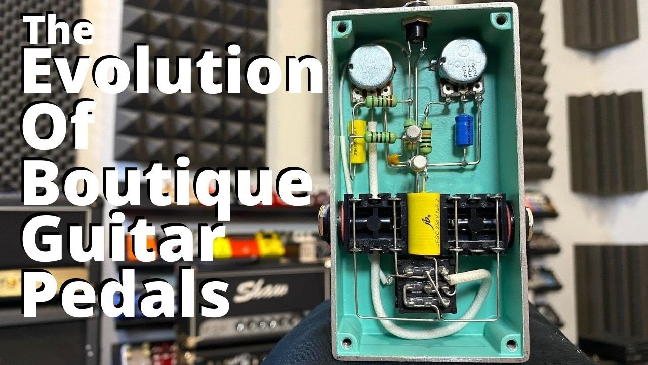 """The Evolution of """"Boutique"""" Guitar Pedals"""