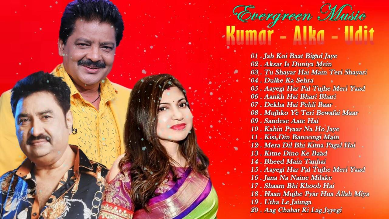 Top 20 Of Alka, Kumar & Udit Hits songs - Bollywood Songs 2020 - Hindi Songs 2021 March