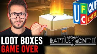 LOOT BOXES, GAME OVER ? EXPLICATIONS avec UFC Que Choisir