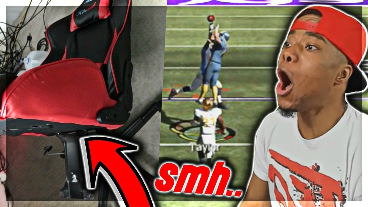 R.I.P 💀 BROKE MY GAMING CHAIR...| GOD SQUAD #10 | Madden 19 Ultimate Team
