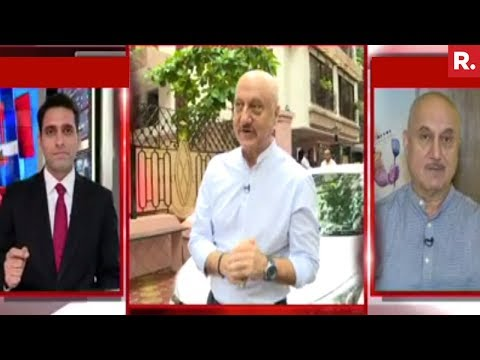 Anupam Kher Speaks Exclusively To Republic TV After His FTII Chairman Appointment