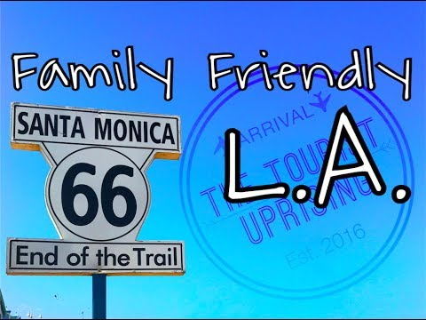 Things to do in Santa Monica, California - family friendly L.A. (budget family travel tips)