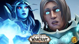 Death Knight Anduin & Arthas' Memory - All Maw Cinematics [World of Warcraft: Shadowlands]