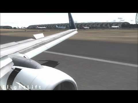 FS - FlyDubai Touches Down at Dubai!