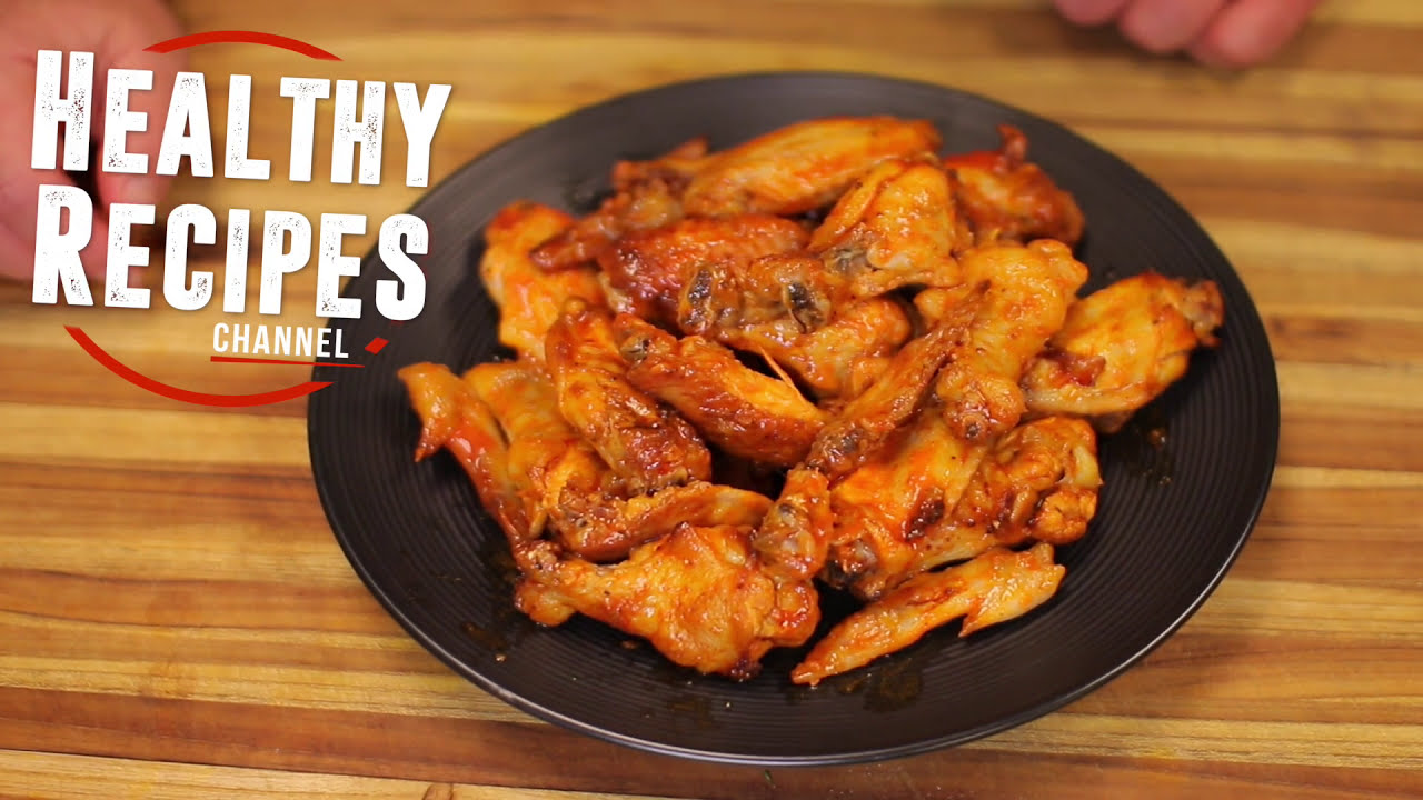 Oil Free Low Fat Naked Chicken Wings Healthy Recipes Keto