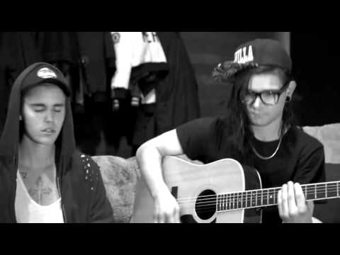 Justin Bieber Perfomance Sorry Acoustic With Skrillex & BLOOD #PreOrderPurpose