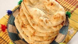 Naan without Tandoor - Tawa Naan with English subtitles   My kitchen My Dish