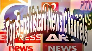 Top 5 pakistani news channels |By Mr.M|