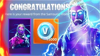 How I Unlocked The GALAXY SKIN For Free! New GALAXY SKIN Unlocked! (Fortnite Battle Royale)