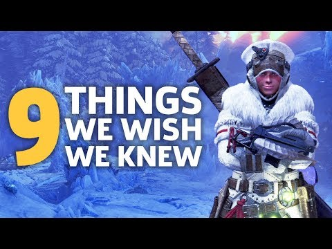 MHW: Iceborne - Things We Wish We Knew Before Starting