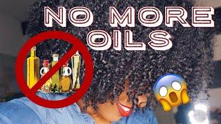 Why i no longer use OILS on my NATURAL HAIR as a SEALANT!