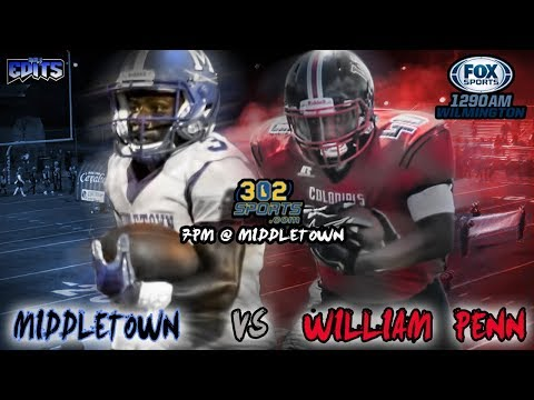 High School Football - WATCH: Middletown 42 - William Penn 7