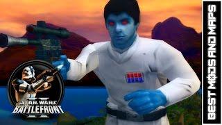 Star Wars Battlefront II (PC) HD: Best Mods & Maps: Kashyyyk: Islands   Galactic Civil War