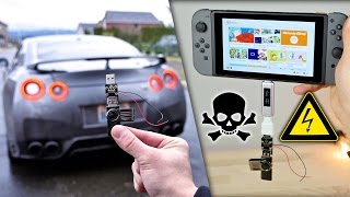 USB Killer vs Nissan GTR & Nintendo Switch - Instant Death?