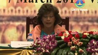 Lao News on LNTV-Laos is hosting the Euro-Asia Regional Review Meeting 7th 05-03-2013