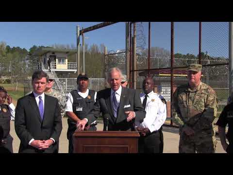 Governor McMaster announces SCDC and SCSG Partnership