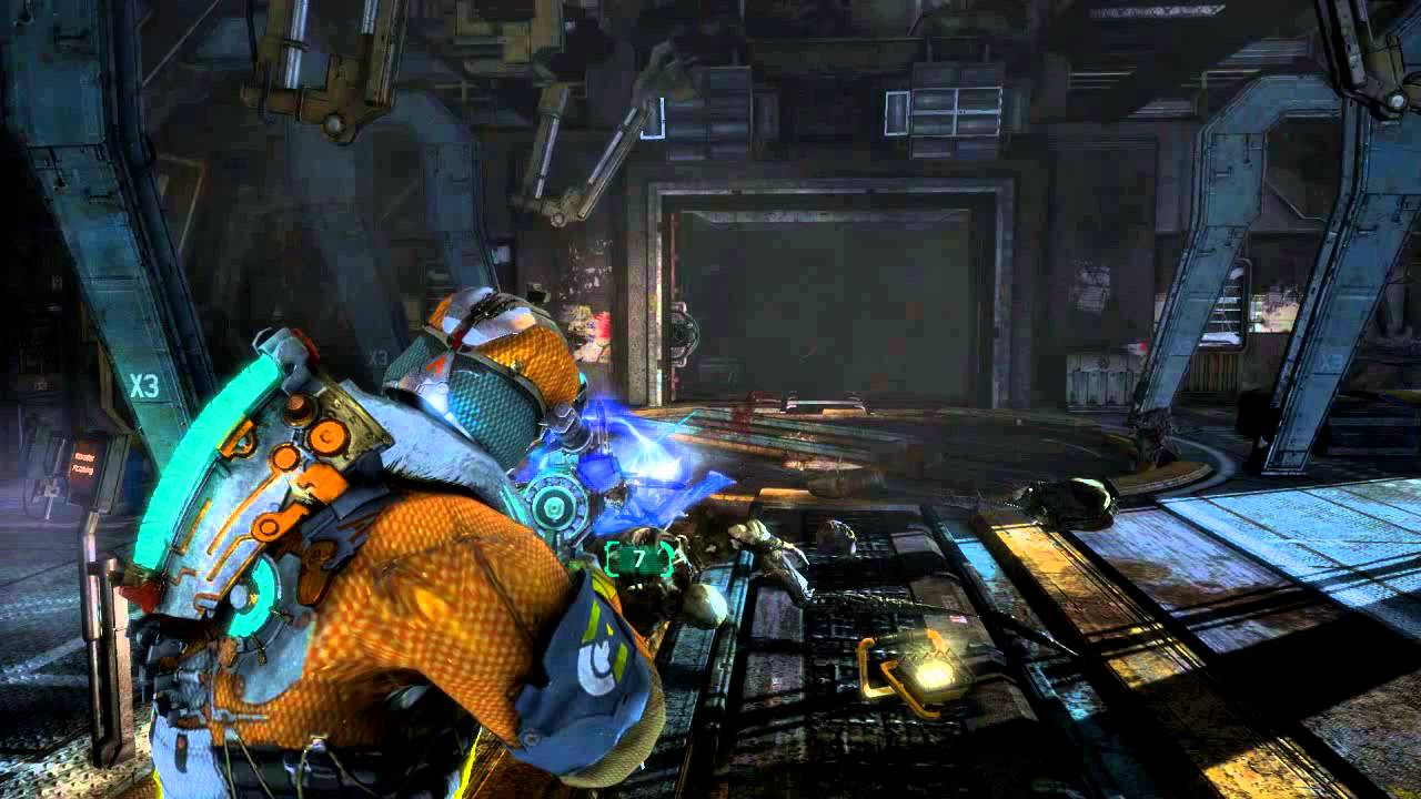 Dead Space 3 - Weapon Crafting (Hammond\'s Heavy Frame Weaponry ...