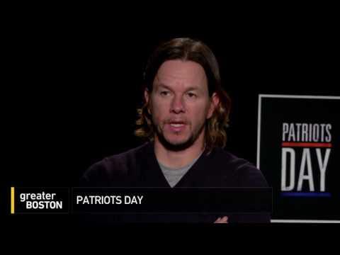 """Mark Wahlberg & Peter Berg Talk """"Patriots Day"""""""
