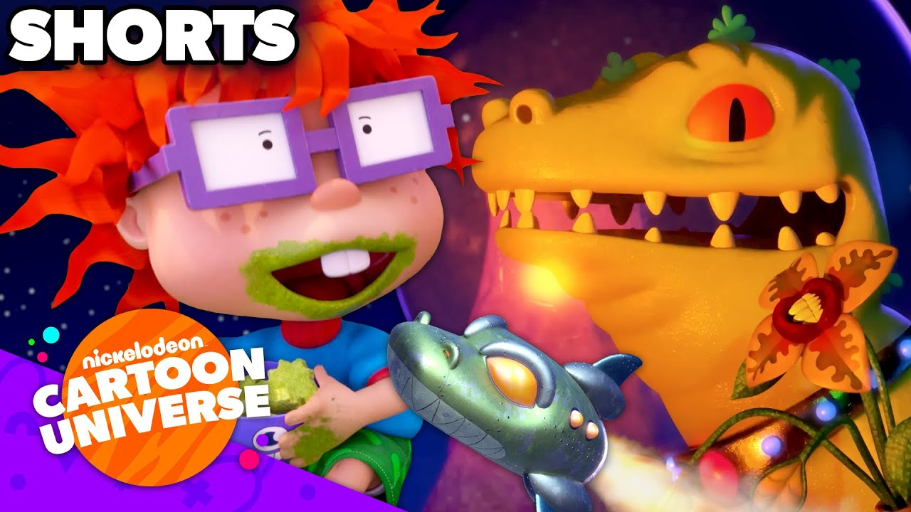 Reptar In Space & Baby Art Project! 🍼 Nickelodeon Cartoon Universe
