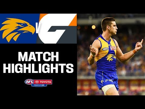 Eagles stars produce classic displays | West Coast v GWS Highlights | Round 2, 2019 | AFL