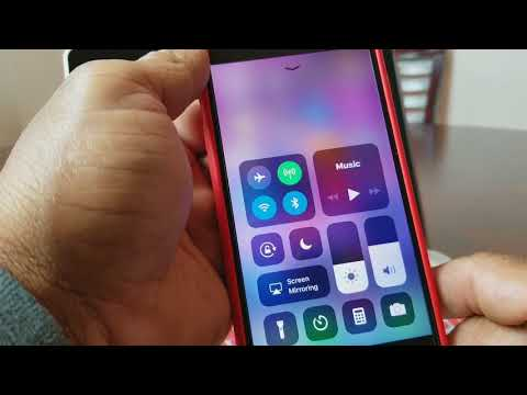 iPhone 7 and 8: How To Air Drop With iOS 11 and The New Control Center.