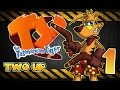 Ty the Tasmanian Tiger ~ Walkthrough Part 1 ~ 100% (Gamecube, PS2, XBOX) ~ Two Up