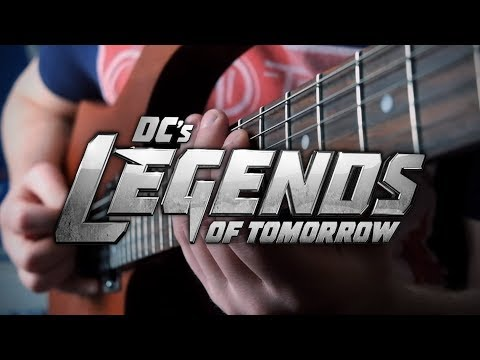 Justice Society of America Theme on Guitar