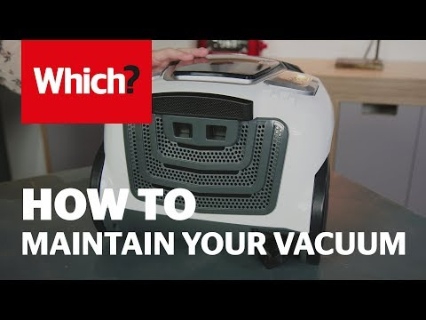 How to maintain and clean your vacuum cleaner