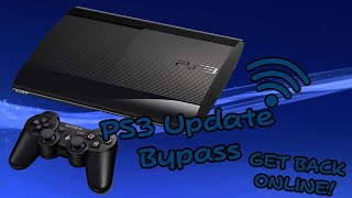 How To: Bypass PS3 4.83 Update And Get Back Online (CFW ONLY)!!