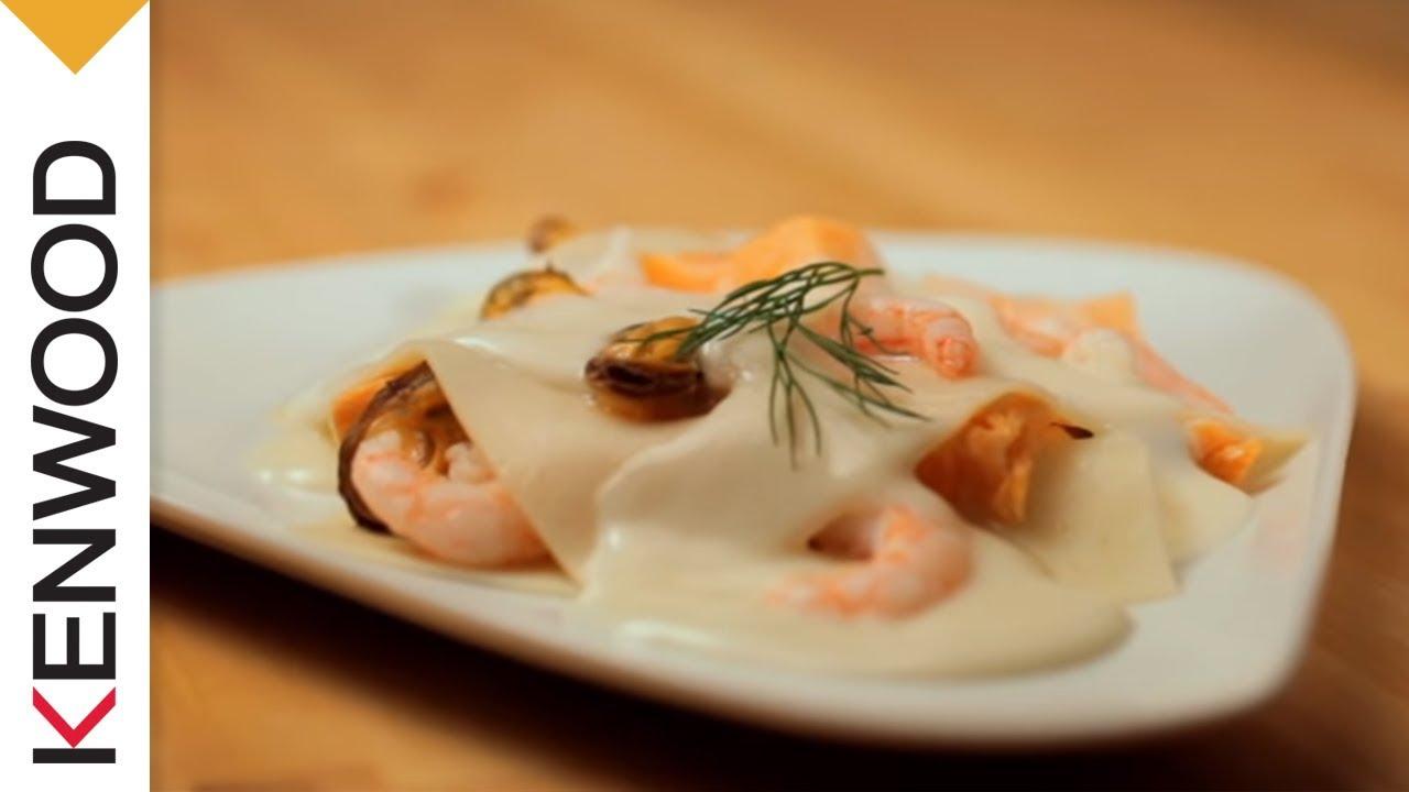 Ricetta Lasagne Kenwood.Salsa Besciamella Youtube