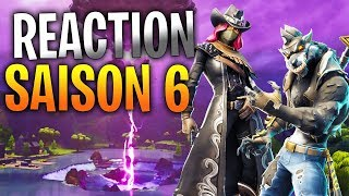 SAISON 6 REACTION ! (Battle pass + Trailer) (Fortnite Battle Royale)