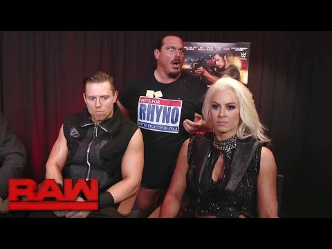 The Miz joins the cast of The Marine 5: Battleground to discuss their chemistry: Raw, April 24, 2017