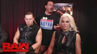 The Miz's mission to recruit a tag team partner for the night's mai...