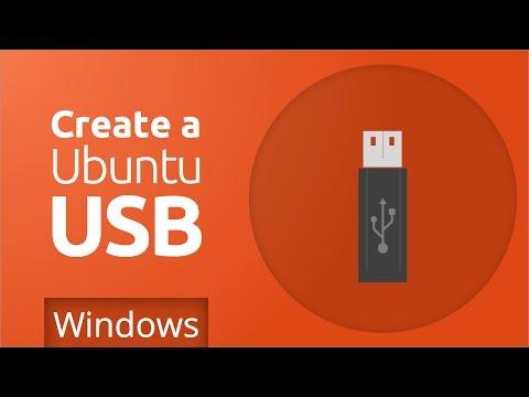 Ubuntu - Create bootable USB (Windows)