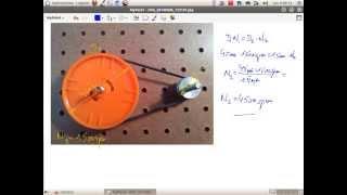 Mecanismos: Calculo de un par de poleas.