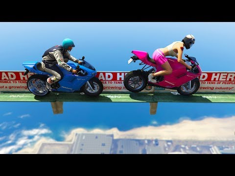 TOP HARDEST RACES IN GTA! (Sanna VS Leah)