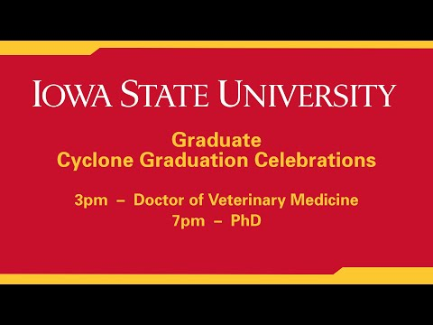 Spring 2021 DVM and PhD Commencement Celebrations (Hilton Coliseum)