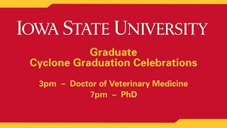 Spring 2021 DVM and PhD Commencement Celebrations (Hilton Coliseum)