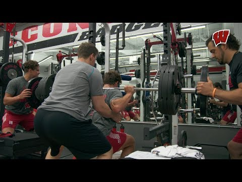 Wisconsin Hockey || Ep 3 || The Weight Room