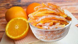 Готовить всем! Бесподобные цукаты из апельсиновых корок