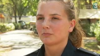 A Ghisonaccia, une policière allemande pour épauler les touristes