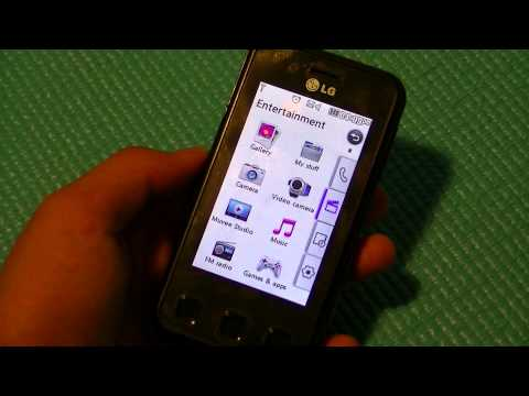 REVIEW: LG KC910 Renoir - 8MP Cameraphone (WiFi):