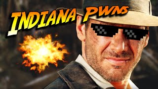 Indiana Pwns and the Raiders of the Dank Meme