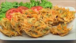 Bakwan sayur kriuk awet garingnya    Crunchy vegetable fritters