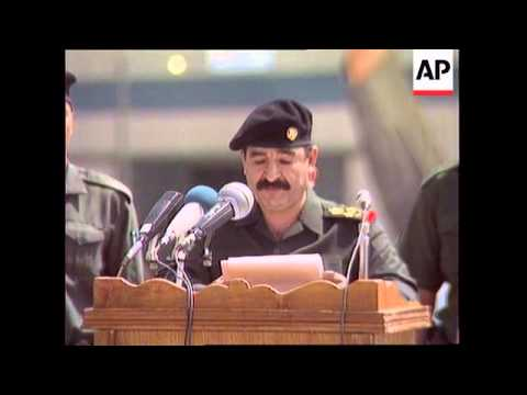 Iraq - Saddam's Son-In-Laws Leave For Jordan