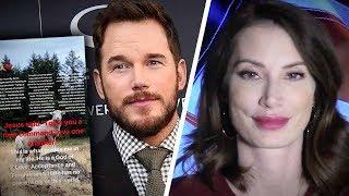 "Chris Pratt tells Ellen Page: ""We Need Less Hate In This World, Not More""   Amanda Head"