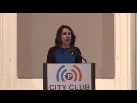 State of the County 2015: Multnomah County Chair Deborah Kafoury (video)